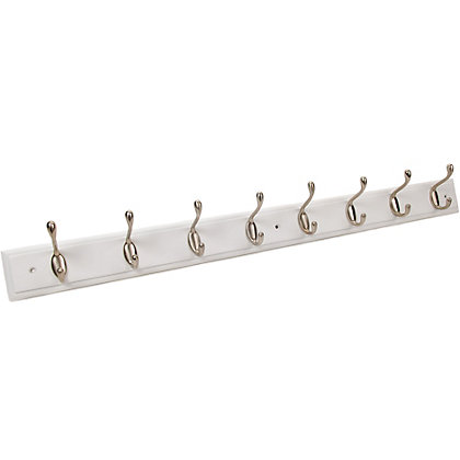 Image for Heavy Duty Hat & Coat Hook - 8 Hooks from StoreName