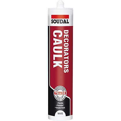 Image for Soudal Decorators Caulk - 300ml Cartridge from StoreName