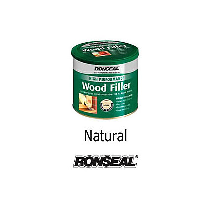 Image for Ronseal High Performance Wood Filler - Natural - 1kg from StoreName