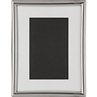 Silver Photo Frame 4 x 6in