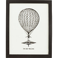 Heart of House Vintage Style Placque - Balloon