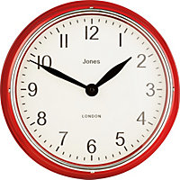 Kettle Red Wall Clock