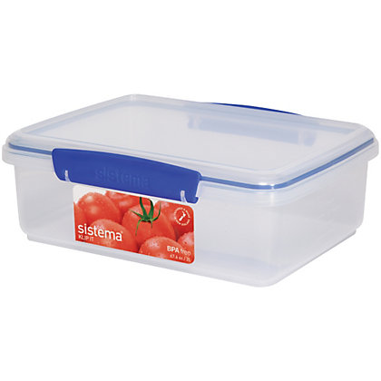 Image for Sistema Rectangular Food Storage - 2L from StoreName