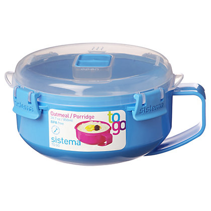Image for Sistema Breakfast Bowl To Go - 850ml - Assorted Colours from StoreName