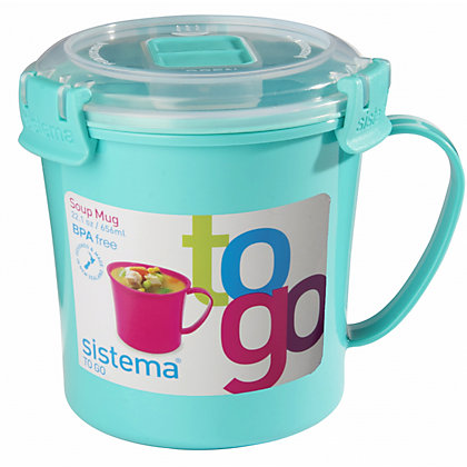 Image for Sistema Soup To Go Mug - Assorted Colours from StoreName