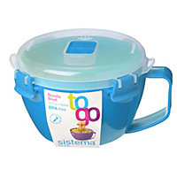 Sistema Noodle Bowl To Go - 940ml - Assorted Colours
