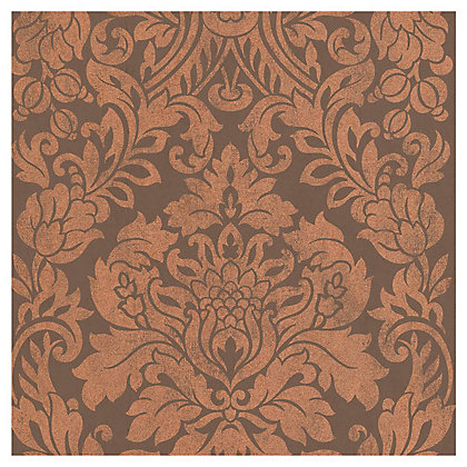 Image for Graham & Brown Gloriana Copper Paste the Wall Wallpaper from StoreName