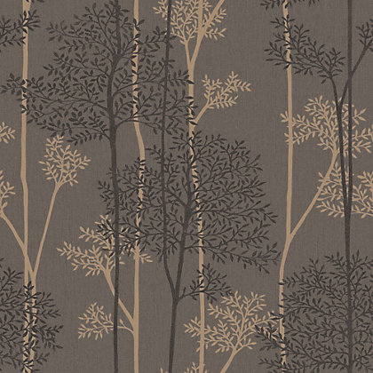 Image for Superfresco Easy Paste the Wall Eternal Chocolate & Bronze Wallpaper from StoreName