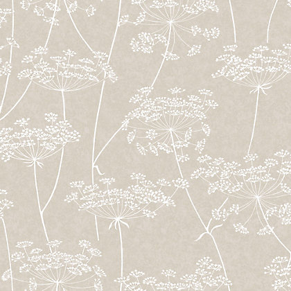Image for Superfresco Easy Paste the Wall Aura Taupe Wallpaper from StoreName