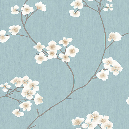 Image for Superfresco Easy Radiance Blue & Cream Wallpaper from StoreName