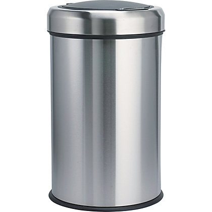 Image for Home of Style Matt Steel Touch Bin - 50L from StoreName