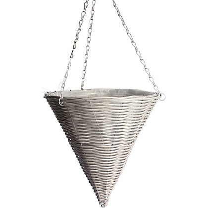 Image for Simplicity Grey Plastic Hanging Cone from StoreName