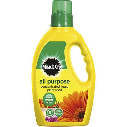 Image for Miracle-Gro All Purpose Concentrated Liquid Plant Food - 1L from StoreName