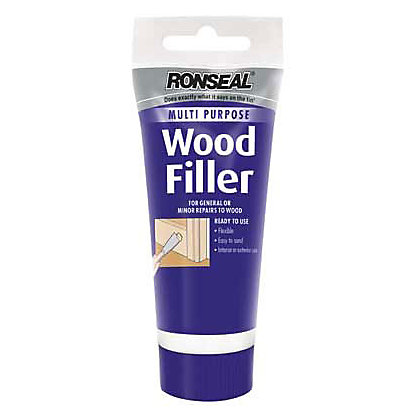Image for Ronseal Multipurpose Wood Filler Tube - White -100g from StoreName