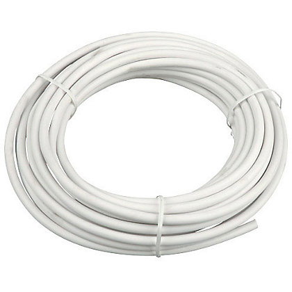 Image for 3 Core Round Flexible Cable 0.5 sq mm 2183Y White 10m from StoreName