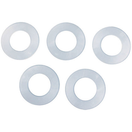 Image for Poly Washers - 19mm - 5 Pack from StoreName