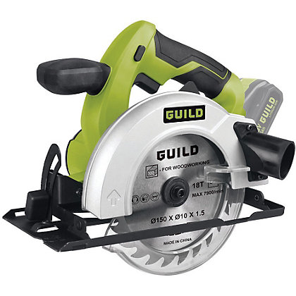 Guild Csc150g 18v Electric Circular Saw