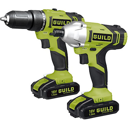 Image for Guild CKT218G Drill and Driver Kit - 18V from StoreName