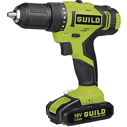 Image for Guild CDT218G Li-Ion Cordless Drill Driver - 18V from StoreName