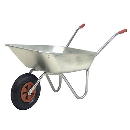Image for Utility Wheelbarrow - Galvanised Pan from StoreName