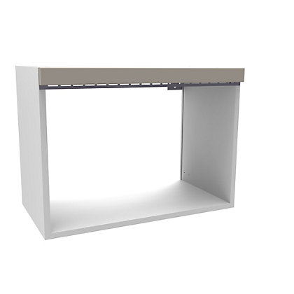 Image for Simply Hygena Kensal Cashmere Microwave Wall Unit - 600mm from StoreName