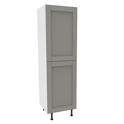 Image for Simply Hygena Southfield - Grey - 600mm Larder Unit from StoreName