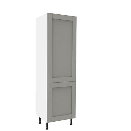 Image for Simply Hygena Southfield - Grey - 70 / 30 Fridge Freezer Unit from StoreName