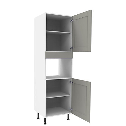 Image for Simply Hygena Southfield Grey Appliance Unit -  380mm from StoreName