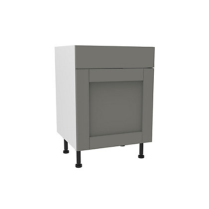Image for Simply Hygena Southfield Grey Standard Drawer Line Base Unit  - 600mm from StoreName