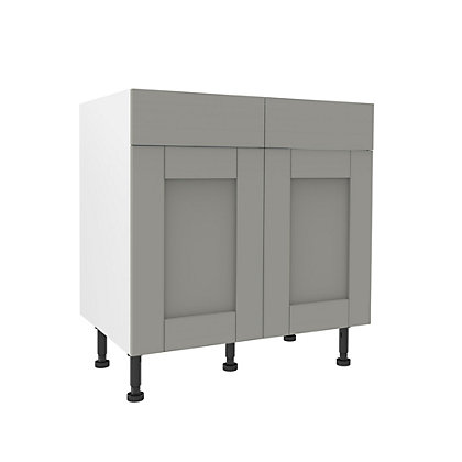 Image for Simply Hygena Southfield Grey Premium Drawer Line Unit - 800mm from StoreName