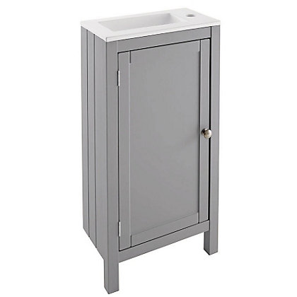Image for Henley Vanity Unit - Grey - 45cm from StoreName