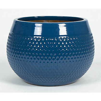 Image for Goa Glazed Ceramic Planter - 27cm from StoreName
