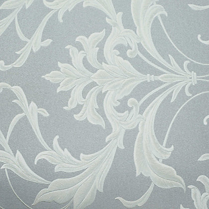 Image for Graham & Brown Oxford Silver & Grey Wallpaper from StoreName