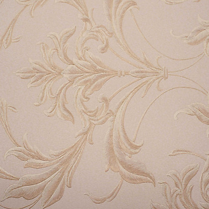 Image for Graham & Brown Oxford Beige & Gold Wallpaper from StoreName