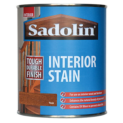Image for Sadolin Interior Stain - Teak - 750ml from StoreName
