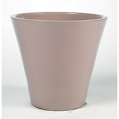 Image for Retreat Meadow Glazed Ceramic Planter - Dusty Pink from StoreName