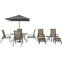 Andorra Dining Set and Tea for Two Garden Furniture - Home Delivery