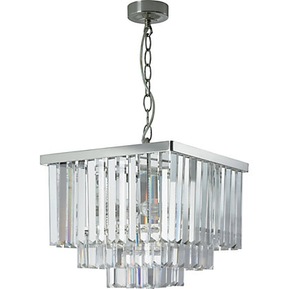 Image for Schreiber Belgrave Crystal Ceiling Light from StoreName