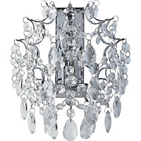 Hedingham Crystal Wall Light