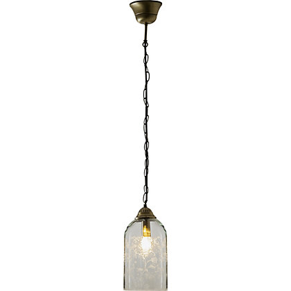 Image for Schreiber Evelyn Etched Pendant Light from StoreName