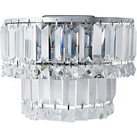 Kingsley Crystal Wall Light