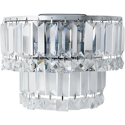 Image for Kingsley Crystal Wall Light from StoreName