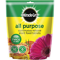 Miracle-Gro All Purpose Continuous Release Plant Food Tablets - 25 Tablets