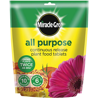 Image for Miracle-Gro All Purpose Continuous Release Plant Food Tablets - 25 Tablets from StoreName