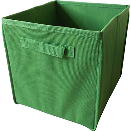 Image for Non-Woven Storage Box - Green from StoreName