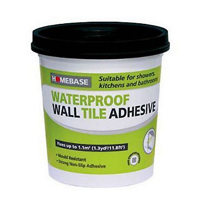 Image for Homebase Adhesive Large White – 5L from StoreName