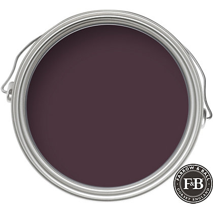 Image for Farrow & Ball Estate No.222 Brinjal - Eggshell Paint - 2.5L from StoreName