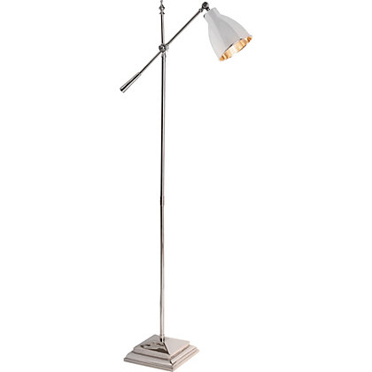 Image for Schreiber Evison Chrome Task Floor Lamp from StoreName