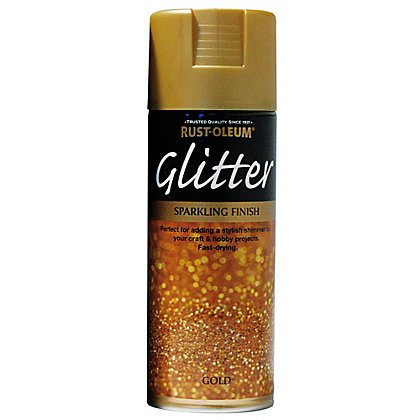 Rust Oleum Gold Glitter Spray Paint 400ml