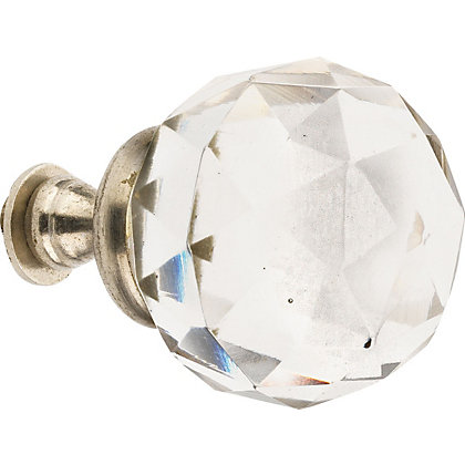 Image for Hiatt Decorative Crystal Ball Hook - Clear from StoreName